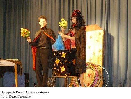 Budapesti Rendo Cirkusz előadása